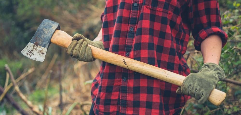 siekiera do łupania drewna