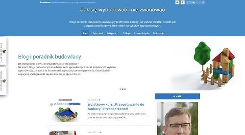blog poradnik budowlany