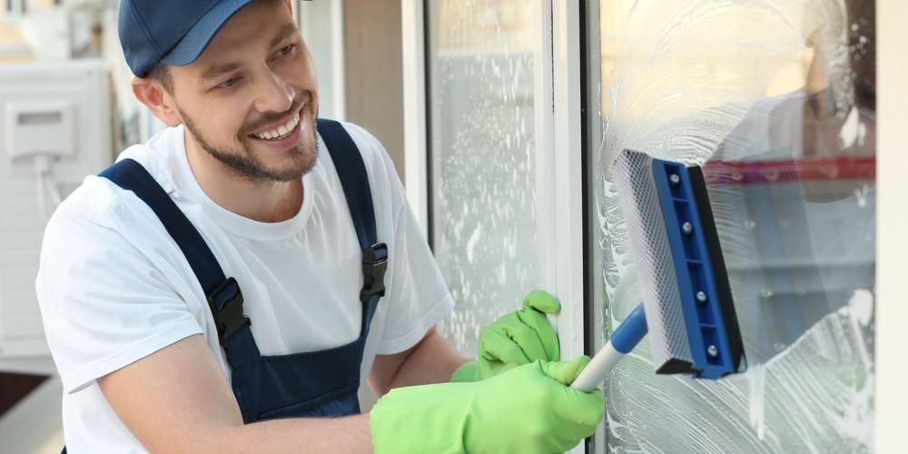 jak umyć okna